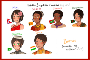 Hetalia  South Asia by Locked-Visions