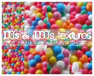100s and 1000s textures by pukingpastilles