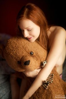 Me and my Teddy by CamilleCrimson