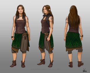 Spindrift - Costume designs Wen 2.0 by ElsaKroese