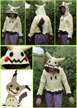 Mimmikyu hoodie by TrafficConeCreations