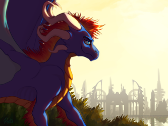 Son of the sunrise by DraKitty