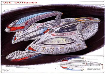 USS Outrider by DonMeiklejohn