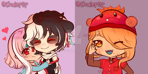 Chibi Oc's Commission by ShulePoP