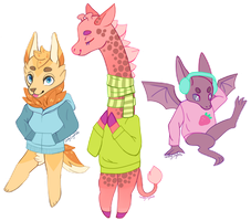 FREE ADOPTS | Sweater weather CLOSED by killcodes