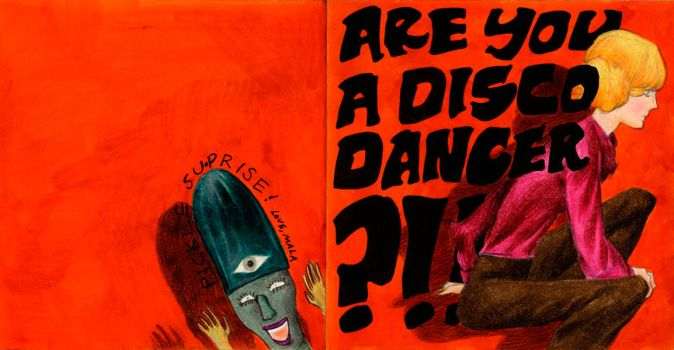 Are You A Disco Dancer?? by pucca