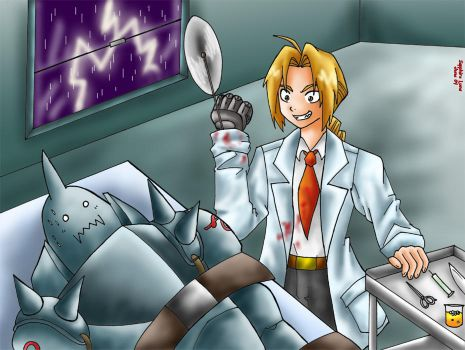 Request- Full Lethal Scientist by sapphireluna