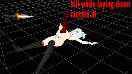 Death or killed while laying down motion dl by Mmdviolence