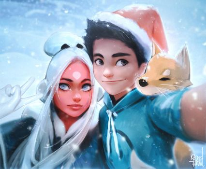 Family :) YouTube! by rossdraws