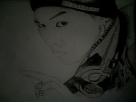 GD!! G-Dragon Crayon! by KingsOfDeon