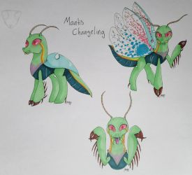 Mantis Changling  by Elmer157Typhlosion