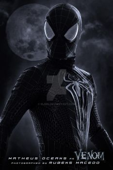 The Amazing spider man 2 Black suit costume by Mjmg