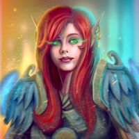 ...Commission: Blood Elf Paladin Bust... by ShadowPriest