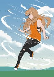 Air/Earth Fight - Aiko by lane880