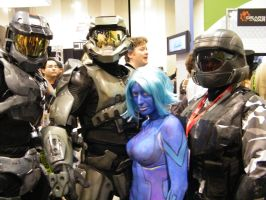 halo 3 costumes by solo-knight6