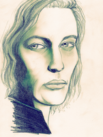 Lestat sketch by FaededMemory