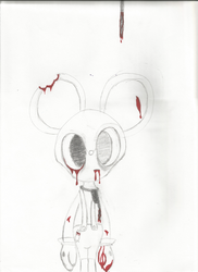 Mickey Mouse Horror House by HolotheCat
