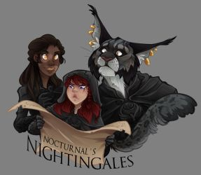 The Nightingales by Arianwen44