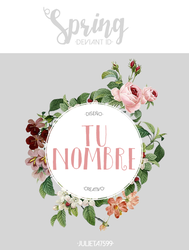 Spring ID {PSD} by Julieta7599