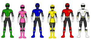 Kaiserverse - Power Rangers Task Force Alpha by Kaiserf11