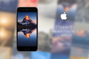 Retina HD Wallpaper Pack No. 2 - iPhone 6 / 6S by pddeluxe
