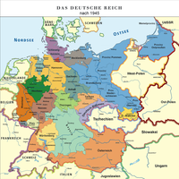 Map of the German Empire (1948) by TiltschMaster