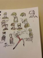 some marine doodles by Lambda-fallout125