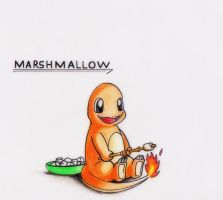 MARSHMALLOW - Charmander by GTS257-CT