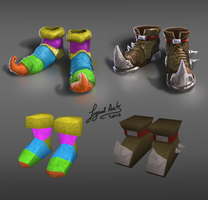 Fancy and Figthing boots Enhanced! by RS-LegendArts