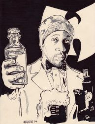 Rza a.k.a. The Scientist - WuTang Clan by JasonKoza