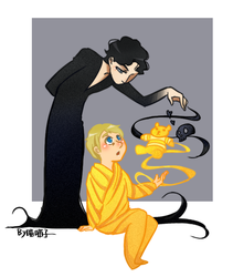BBC Sherlock+Rise of the Guard by aulauly7