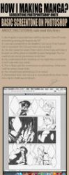How to basic screentone on PTS by pandabaka