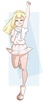 Z Powered Lillie! by sidgreen01