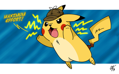 Detective Pikachu by UncleScooter