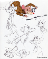 Basil Sketches 2 by little-ampharos