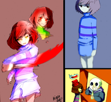 Undertale #2 by kiacii-official