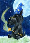 Magic Scottie - ATC by spiraln