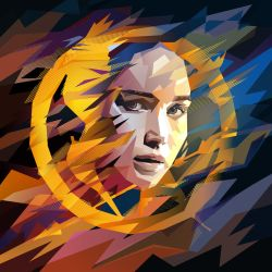 hunger games: mockingjay by mobokeh