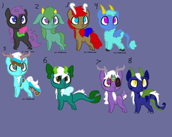 little pony adopts by MephiNo