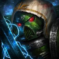 Dark angels space marine by ameeeeba