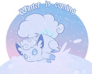 Winter is coming (animated) by littlepolka