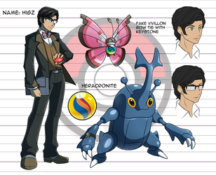 Pokemon Trainer OC: Researcher Higz by Mgx0