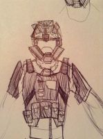 knock-off ODST sketch by Lambda-fallout125