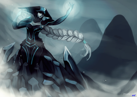 Lissandra - The ice witch by Jmsampaio