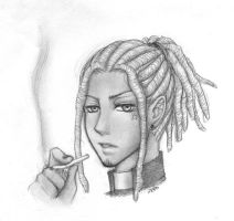 dreadlocks clergyman by zero0810