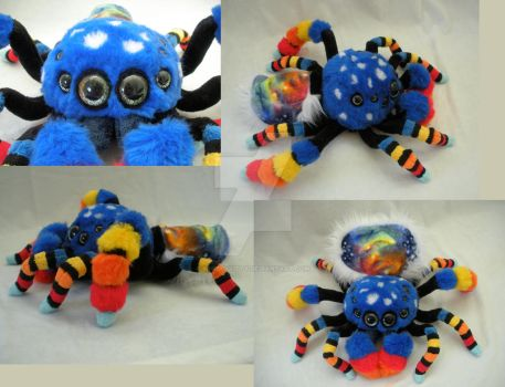 Cosmic Australian Peacock Spider by WhittyKitty