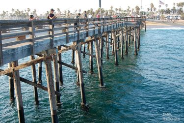 Pier To Beach by atomicranchgal
