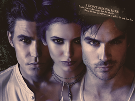 The Vampire Diaries - Wall by DeceasedSymphony