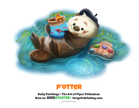 Daily 1359. P'otter by Cryptid-Creations