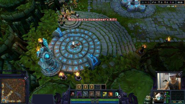 League of Legends overlay by SamHexo
